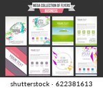 collection of creative... | Shutterstock .eps vector #622381613