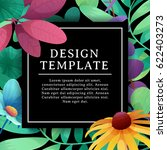 banner design template with... | Shutterstock .eps vector #622403273