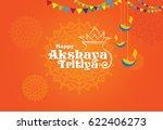 akshaya tritiya template design | Shutterstock .eps vector #622406273