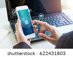 online banking payment... | Shutterstock . vector #622431803