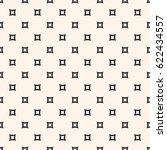 vector seamless pattern. simple ... | Shutterstock .eps vector #622434557