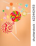 different colorful delicious... | Shutterstock . vector #622442453