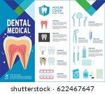 set of dental problem medical...   Shutterstock .eps vector #622467647