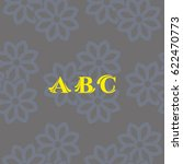 letters  pattern. background...   Shutterstock .eps vector #622470773