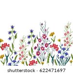 embroidery flowers. embroidered ... | Shutterstock . vector #622471697
