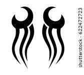 tattoo tribal vector designs....   Shutterstock .eps vector #622472723