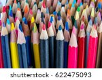 colorful wooden pencils | Shutterstock . vector #622475093