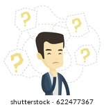 young asian business man... | Shutterstock .eps vector #622477367