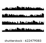abstract vector set of city... | Shutterstock .eps vector #622479083