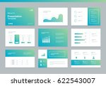 page layout design template for ... | Shutterstock .eps vector #622543007