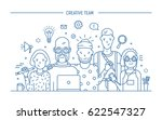 creative business team concept. ... | Shutterstock .eps vector #622547327