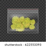 realistic plastic bag of... | Shutterstock .eps vector #622553393