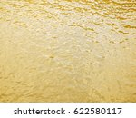 Gold Wave Water Background