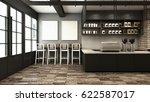 cafe shop   restaurant design... | Shutterstock . vector #622587017