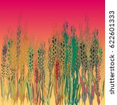 field harvest of spikelets on...
