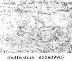 grunge vector texture.overlay... | Shutterstock .eps vector #622609907