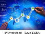 economy growth concept ...   Shutterstock . vector #622612307