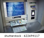Atm Machine And Money....