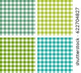 picnic table cloth. color... | Shutterstock .eps vector #622704827