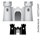 castle  vector  | Shutterstock .eps vector #622711547