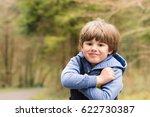 outdoor portrait of cute young... | Shutterstock . vector #622730387