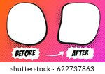 template background before and... | Shutterstock .eps vector #622737863