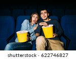 couple of friends looking... | Shutterstock . vector #622746827