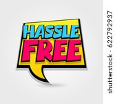 hassle free sale advertising... | Shutterstock .eps vector #622792937