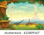 Prehistoric Landscape With...