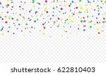 colorful vector serpentine and... | Shutterstock .eps vector #622810403