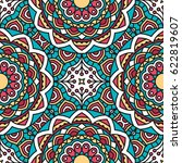 seamless oriental pattern.... | Shutterstock . vector #622819607