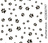 vector seamless pattern with... | Shutterstock .eps vector #622830797