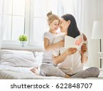 happy mother's day  child... | Shutterstock . vector #622848707