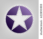 star in circle vector... | Shutterstock .eps vector #622853303