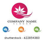 rose logo | Shutterstock .eps vector #622854383