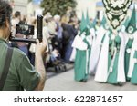 holy week procession  detail of ... | Shutterstock . vector #622871657