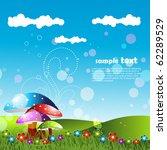 artistic landscape design art | Shutterstock .eps vector #62289529