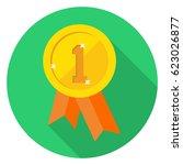 winner icon | Shutterstock .eps vector #623026877