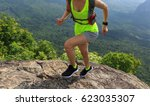 young fitness woman trail... | Shutterstock . vector #623035307