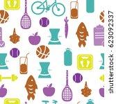 vector illustration. pattern... | Shutterstock .eps vector #623092337