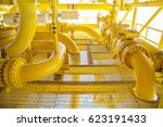 offshore oil and gas remote...   Shutterstock . vector #623191433