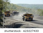 transport caking coal  | Shutterstock . vector #623227433