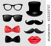 big hipster collection  | Shutterstock . vector #623253737