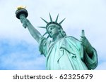 american symbol   statue of... | Shutterstock . vector #62325679