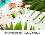 stylish sunglasses | Shutterstock . vector #623259827