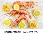 Raw Shrimps With Lemon And...