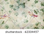 vintage wallpaper design - stock photo