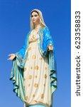 Statues Of Holy Women In Roman...