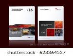 business vector template.... | Shutterstock .eps vector #623364527