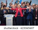 paris  france   april 17  2017  ...   Shutterstock . vector #623365607